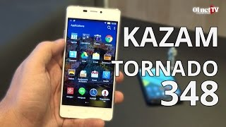 Test du Tornado 348 : le smartphone ultrafin de Kazam