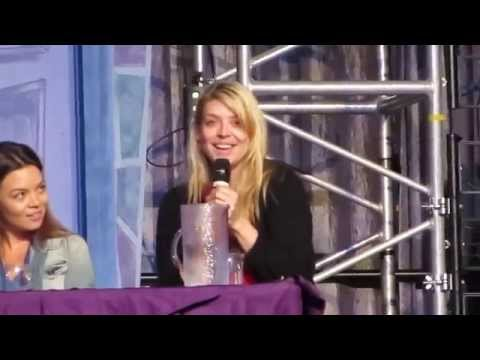 "Amber Benson rapping ""I'm Under Your Spell"""