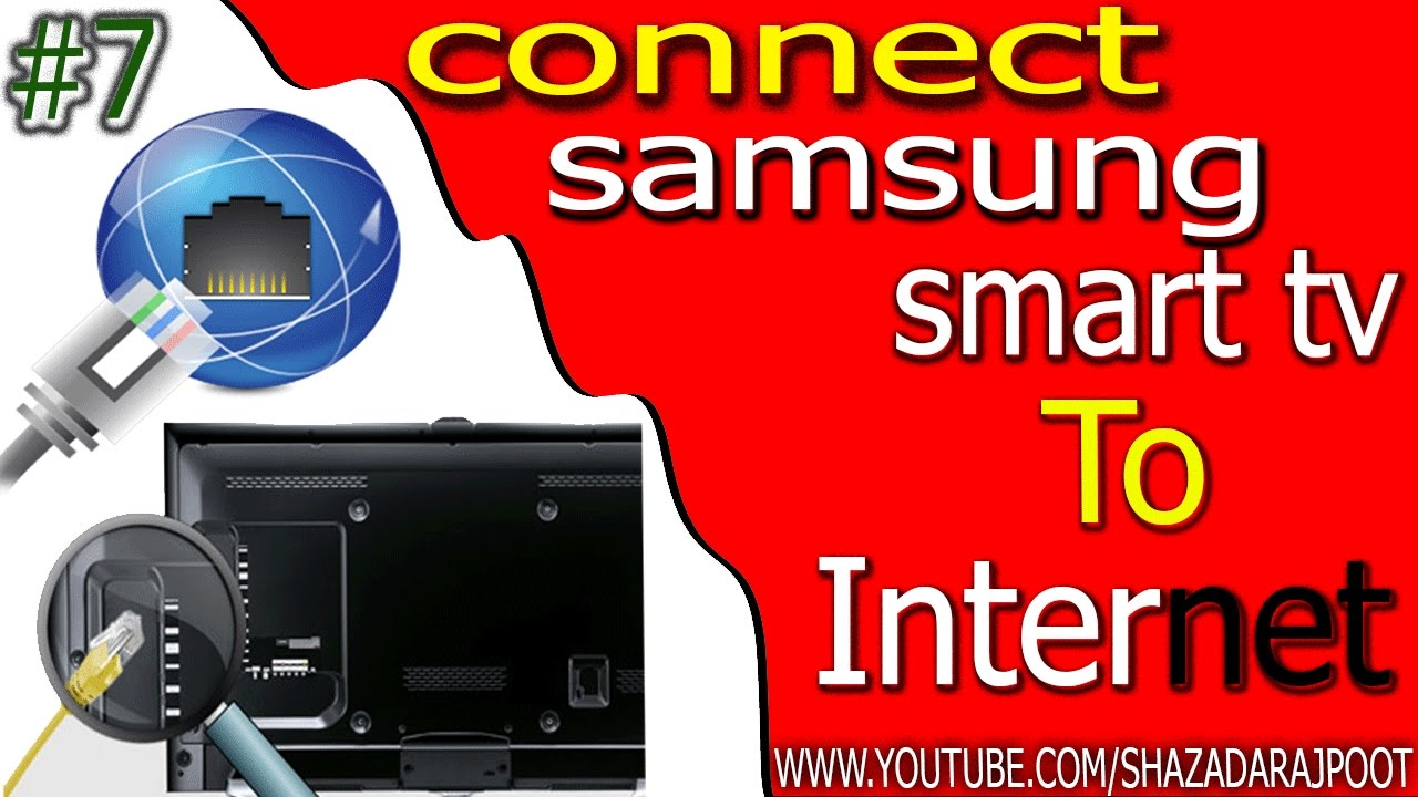 How to connect to a Wired Internet Network Manually in Samsung Smart TV?