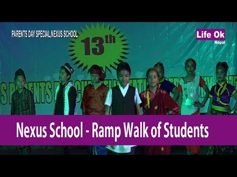 RAMP WALK OF NEXUS ACADEMY