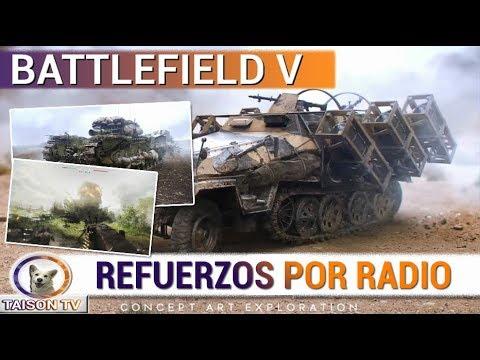 BATTLEFIELD V LOS REFUERZOS POR RADIO MISILES V1,V2... - ADIOS ELITES Y COLOSOS O GIGANTES
