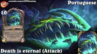 Hearthstone: Yogg-saron card sounds in 14 languages -WotOG