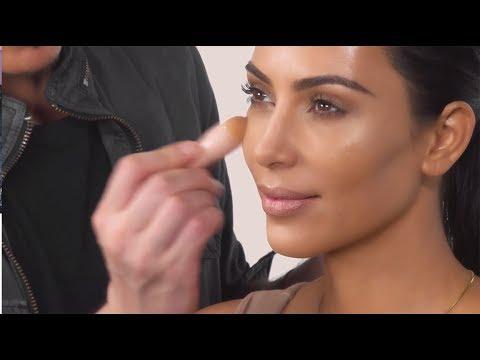 Mario Does Kim's Makeup