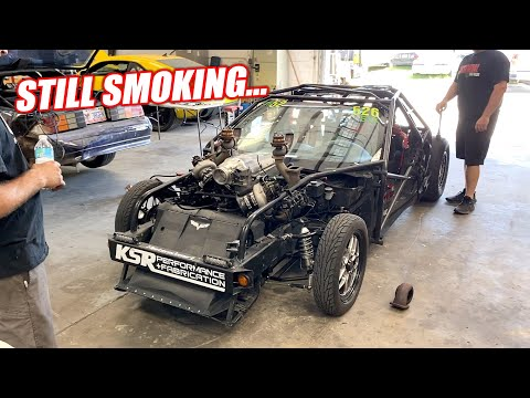 Leroy is FINALLY Getting Bigger Turbos!!! But His Engine is Smoking BADLY, Even Without Turbos... - Cleetus McFarland