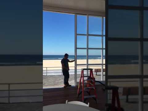 Roll-A-Cover's Rolling Wall System at Sunny Atlantic Beach Club in Atlantic Beach, NY