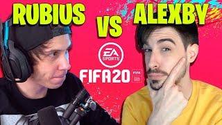 RUBIUS VS ALEXBY FIFA 20 || CON JUGADORES LEGENDARIOS