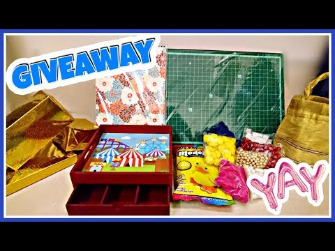 New Year Craft and Stationery Giveaway 2019 | Win Free Gifts :)