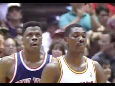 Hakeem shuts down Ewing - 1994 Finals Game 2