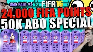fifa 16 pack opening deutsch 24 000 fifa points pack opening 50k abo special ultimate team 2