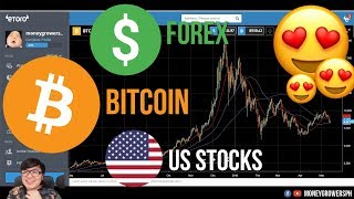 TRADE Forex + Crypto + US Stocks for Only $200