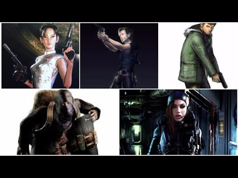15 Characters I would return to Resident Evil. Part 4, 41
