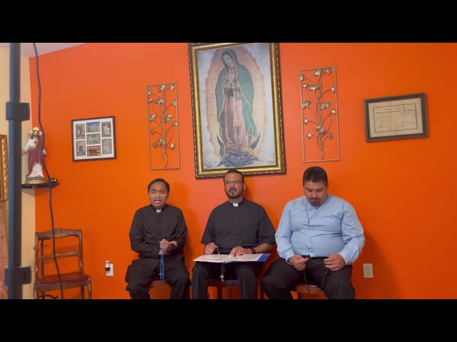 Pray with Us! The Holy Rosary. Praying with Fr. Hector, Fr. Memo, DIOCESE OF SACRAMENTO.