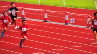 Otto 100M running @ Asia Pacific kids Sports