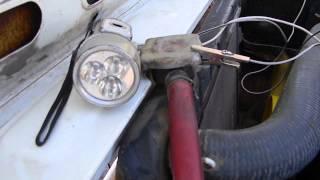 видео Автомобильный стробоскоп своими руками. Схема и описание