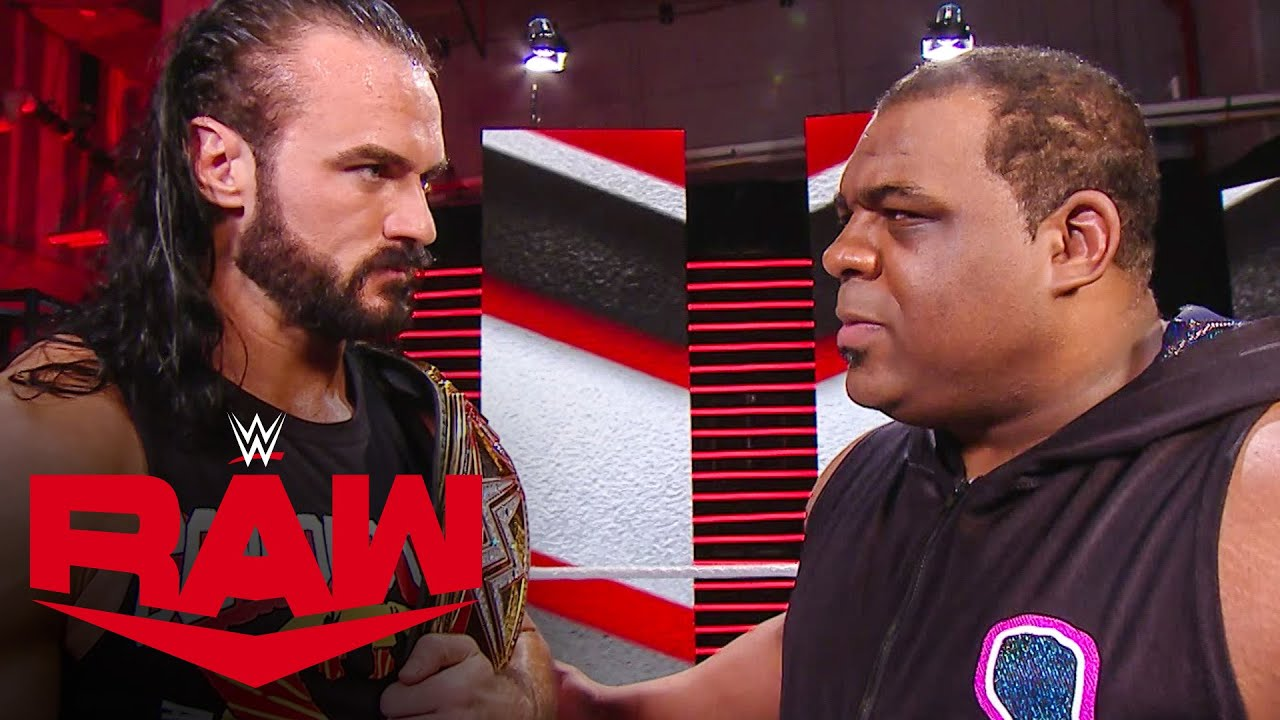 Keith Lee goes into a rage on Drew McIntyre: Raw, Sept. 14, 2020 - YouTube