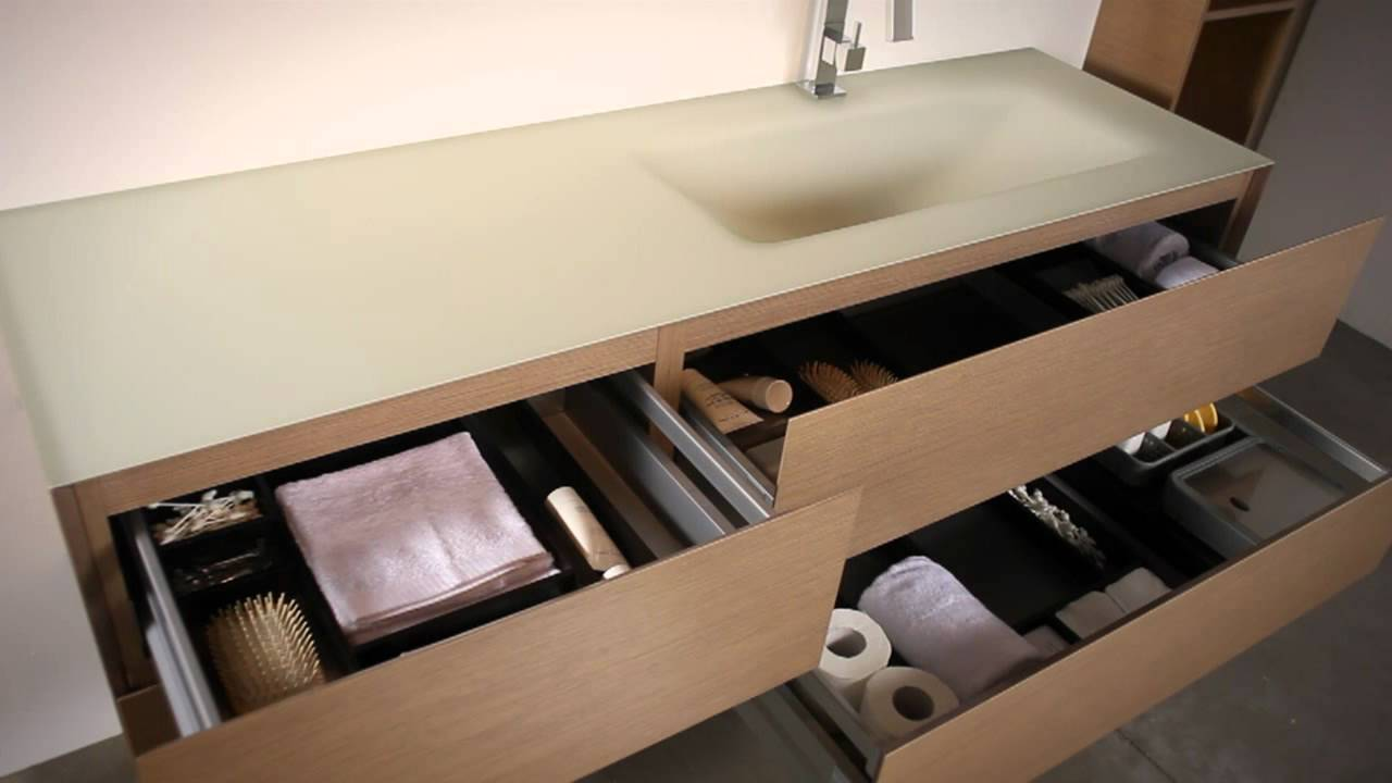 I mobili bagno colorati di NIKE Edonè Design - YouTube