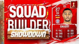 Fifa 20 Squad Builder Showdown Advent Calendar PLAYER OF THE MONTH GNABRY Day 1 Vs PieFace