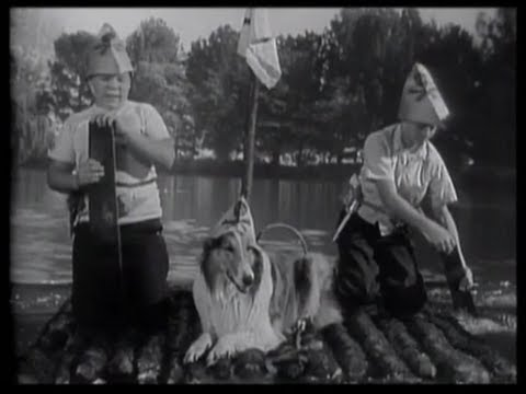 "Download Lassie - Episode 50 - ""The Raft"" Season 2, #24 (02/19/1956)"