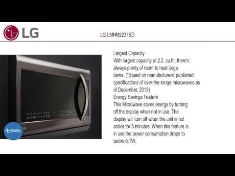 LG LMHM2237BD at www appliancesconnection com - YouTube
