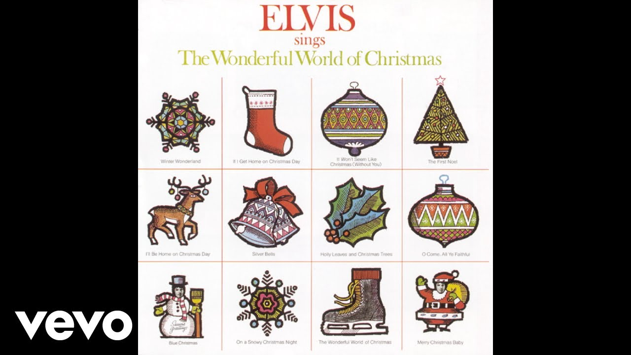 Elvis Presley - Holly Leaves and Christmas Trees (Audio) - YouTube