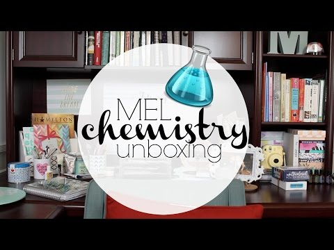 MEL science box unboxing
