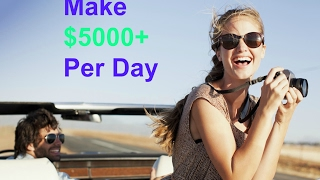 How To Make Money Online Fast And Easy - Make $5000+ Per Day .