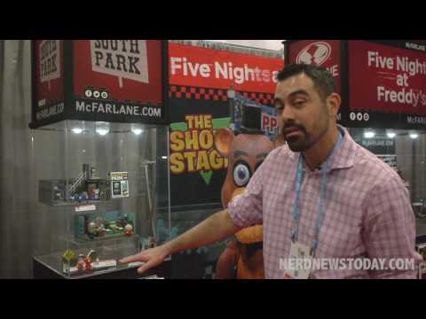 NY Toy Fair 2017: McFarlane Toys - Rick and Morty, Steven Universe, South Park, FNAF