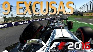 9 EXCUSAS QUE USAMOS TODOS EN F1 2016 CODEMASTERS