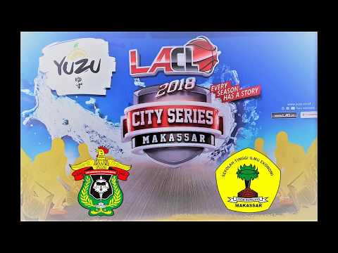 FULL HIGHLIGHTS : SEMI FINAL - UNHAS Vs STIEM BONGAYA (LA CAMPUS LEAGUE 2018 - MAKASSAR SERIES)