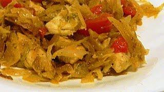 Курица с Тушеными Овощами кулинарный видео рецепт