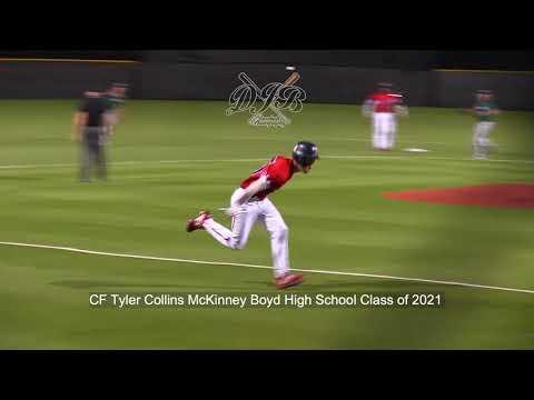 CF Tyler Collins McKinney Boyd High School Class of 2021