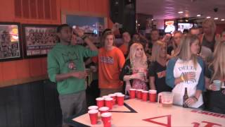 Big Cat Plays Beer Pong With Christopher Mintz-Plasse, Dave Franco, and Jerrod Carmichael thumbnail