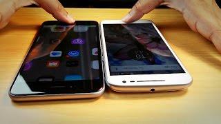 Moto G4 Plus vs iPhone 6S Plus - Fingerprint Speed Test! (You'll be surprised)