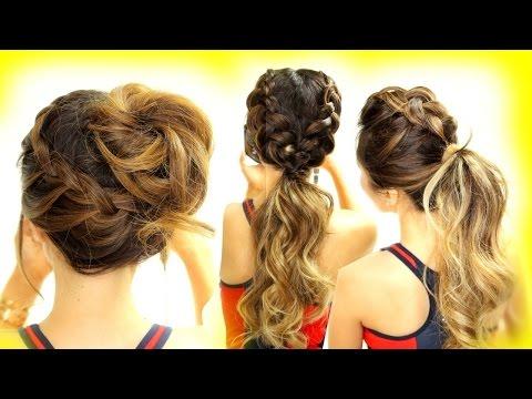 3-★-cutest-workout-hairstyles!-braid-school-hairstyles-for-long-medium-hair