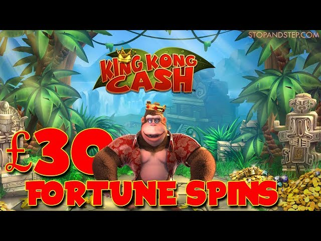 King Kong Cash £30 FORTUNE SPINS!!!