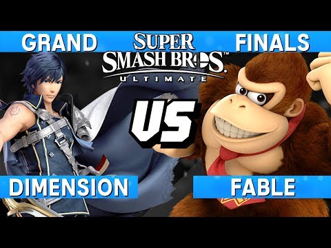 Smash Ultimate Tournament Grand Finals - Fable (Donkey Kong)