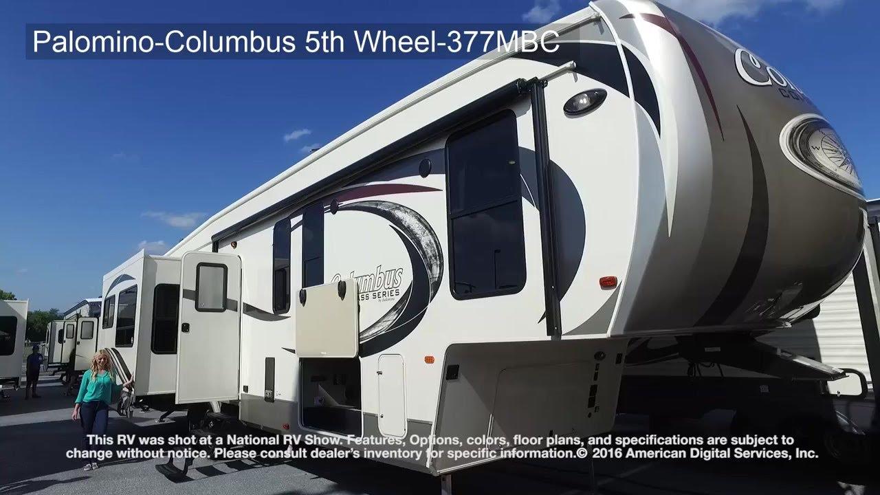 Palomino-Columbus 5th Wheel-377MBC