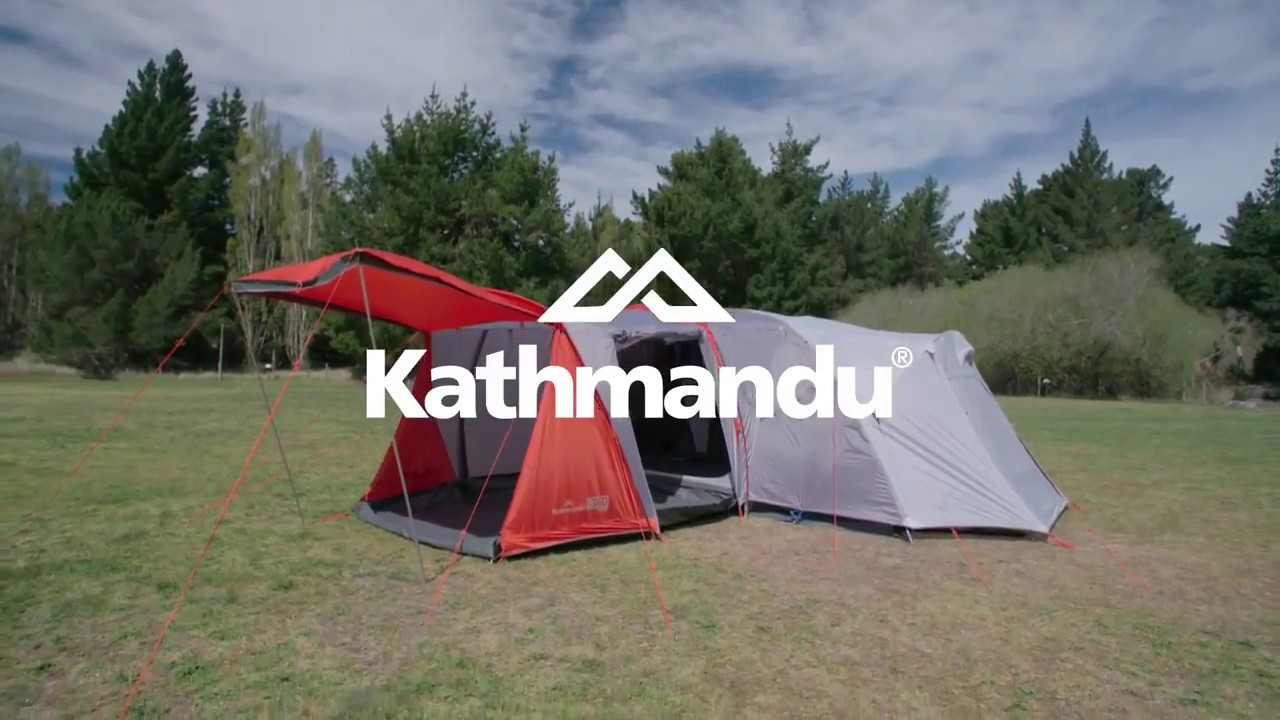 How to Pitch a Kathmandu Retreat 360 Tent & How to Pitch a Kathmandu Retreat 360 Tent - YouTube