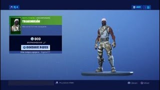 Buying twd tyreese skin in fortnite with code Vegetta777