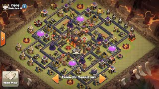NEW Town hall 10 war base extra walls(+25) +more! New clash of clans clash update