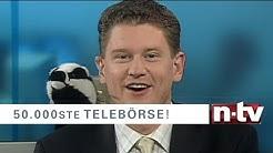 n-tv Telebörse-Jubiläum: die lustigsten Pannen aus 50.000 Ausgaben
