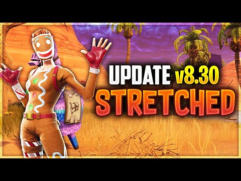 HOW TO GET STRETCHED RESOLUTION FORTNITE v8.30 *WORKING*