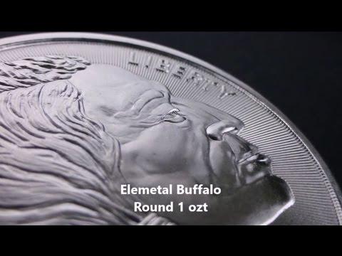 Silver Buffalo Round