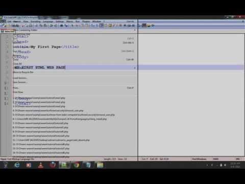 HTML Tutorial 1 by Saleem Saad