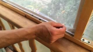 Крепежная репейная лента для москитной сетки
