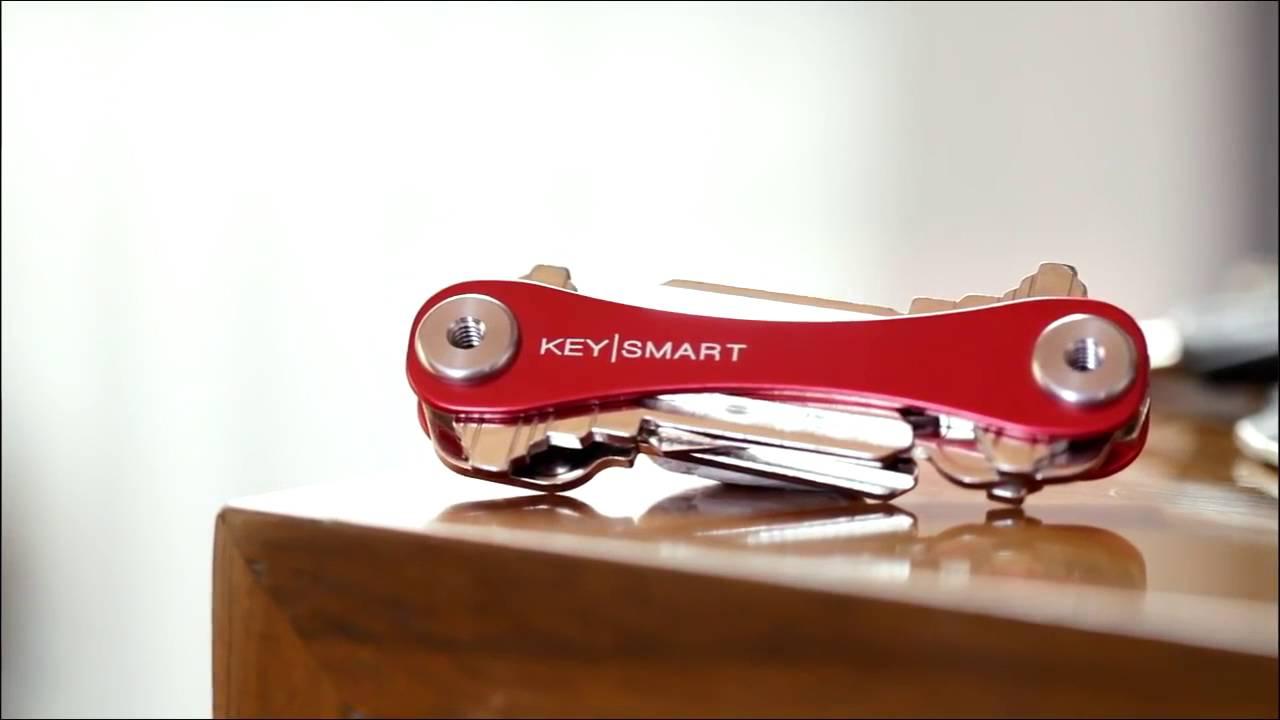 keysmart porte cl couteaux suisse compact et design youtube. Black Bedroom Furniture Sets. Home Design Ideas