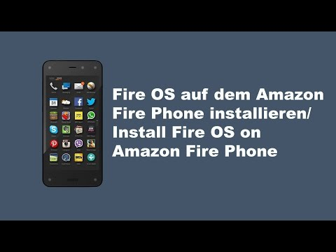 Fire OS auf dem Amazon Fire Phone installieren/ Install Fire OS on Amazon Fire Phone (multilingual)