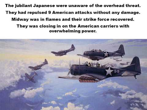 The Battle of Midway, A Dive Bomber