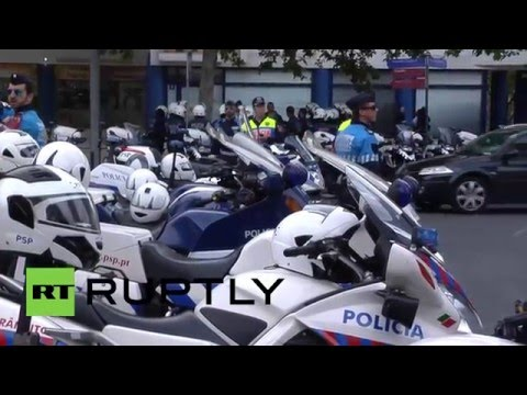 Portugal: Massive anti-Uber protest brings Lisbon to a standstill