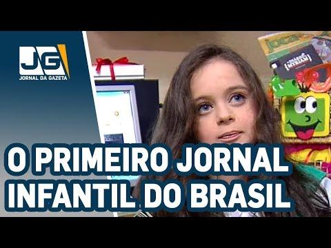 Uma alemã faz o primeiro jornal infantil do Brasil